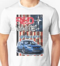 Red White & Brappp : STi T-Shirt