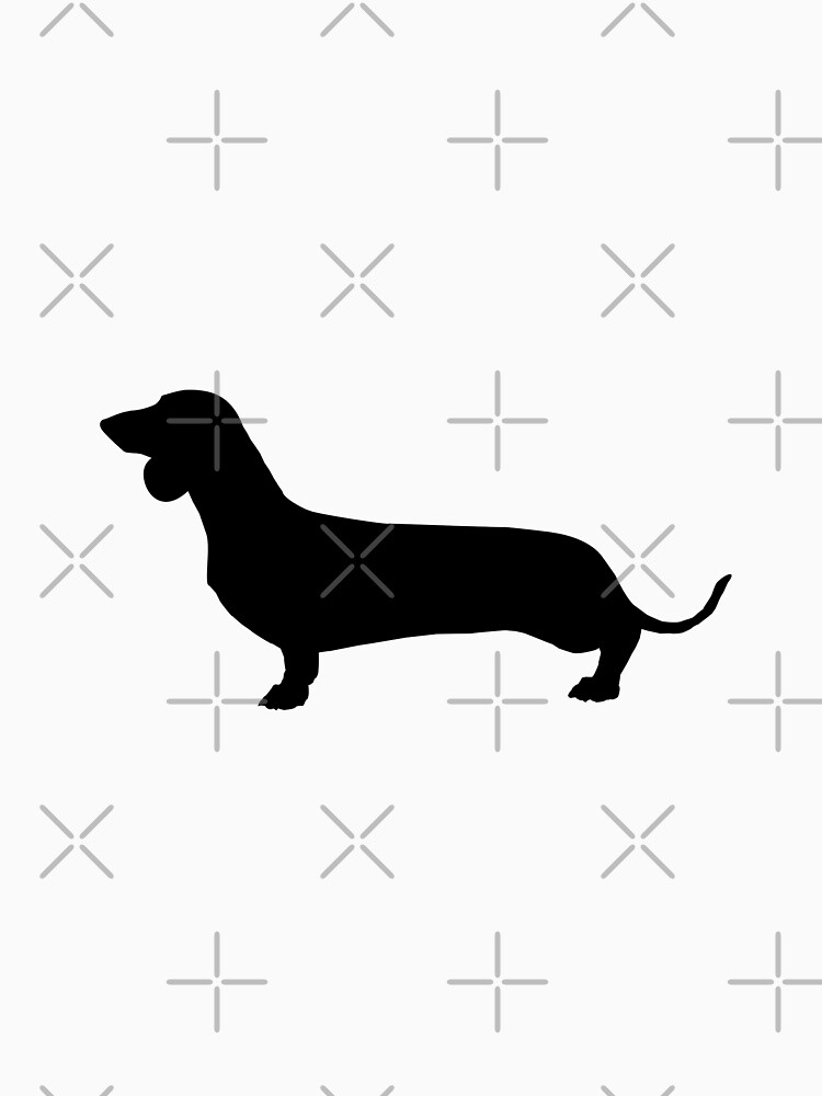 Dachshund Silhouette by tribbledesign