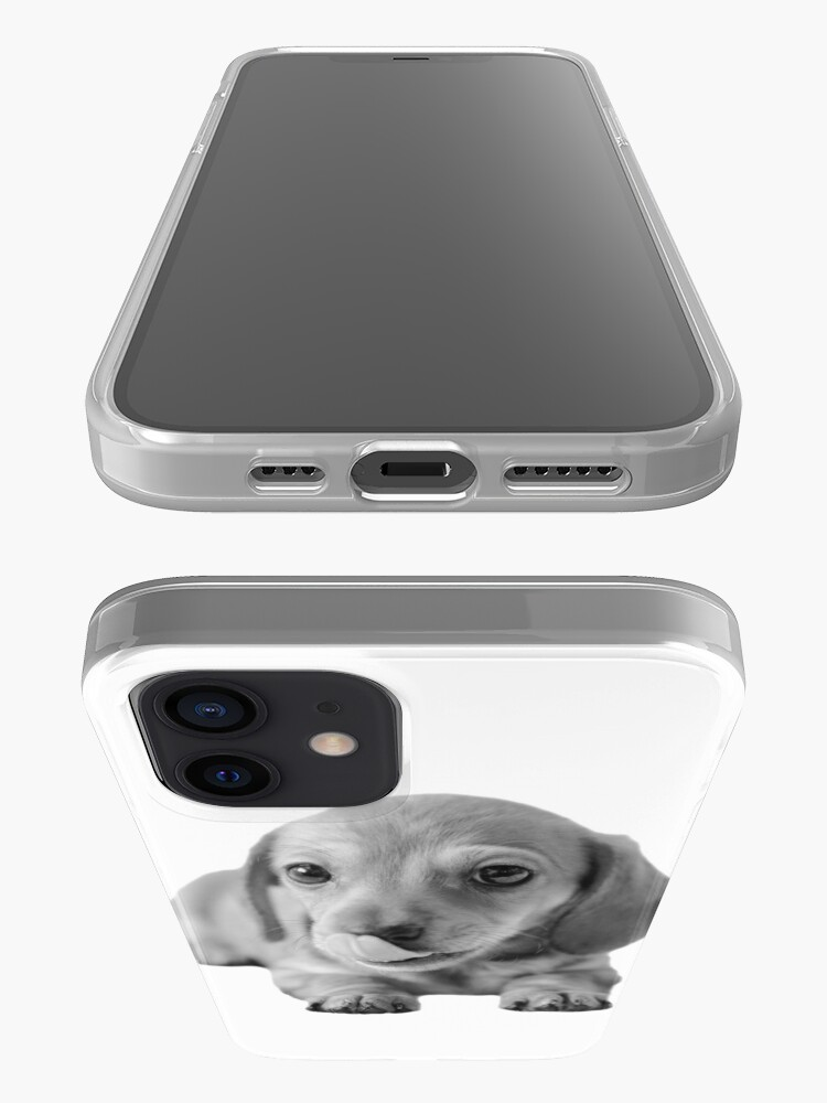 Alternate view of Little Cute Dachshund Puppy iPhone Case & Cover
