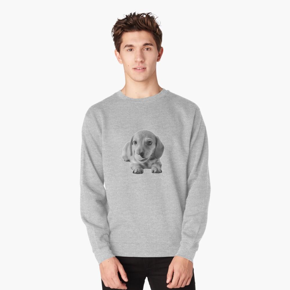 Little Cute Dachshund Puppy Pullover Sweatshirt