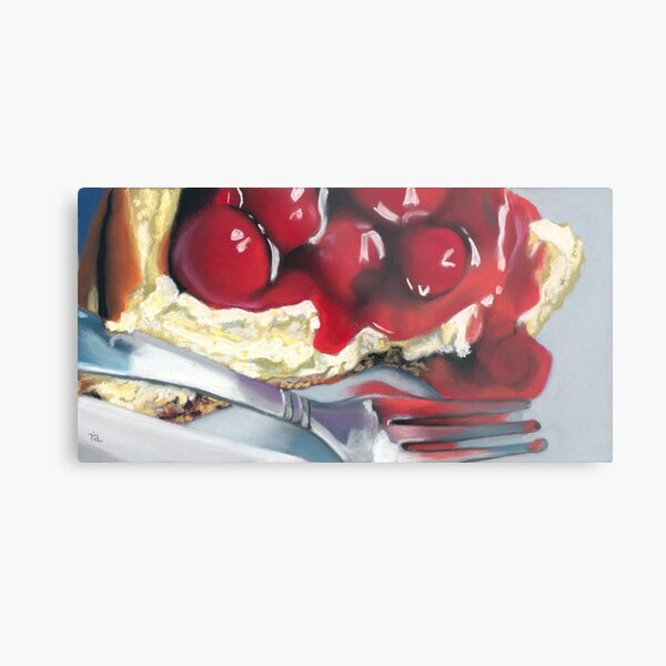 Cheesecake Metal Print