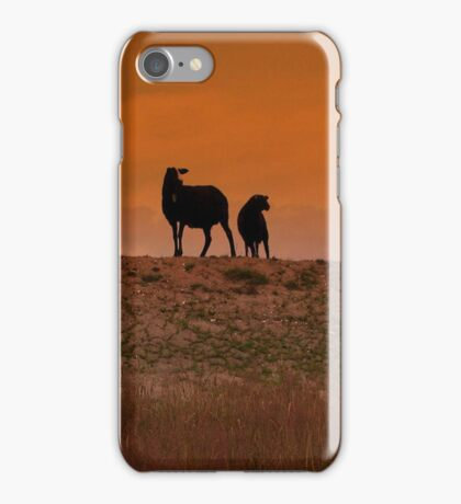 Sheep Silhouette iPhone Case/Skin
