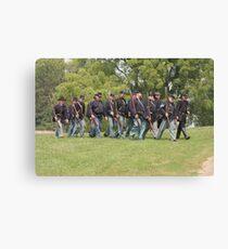 Civil War Reenactment Canvas Print