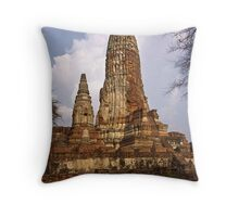 Chedi Ruin Throw Pillow