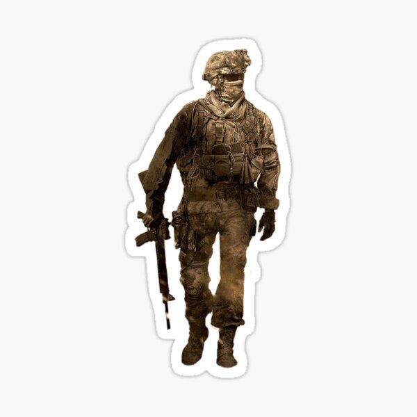 MW2 Dood Sticker