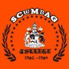 Scum Bag College by Steve's Fun Designs