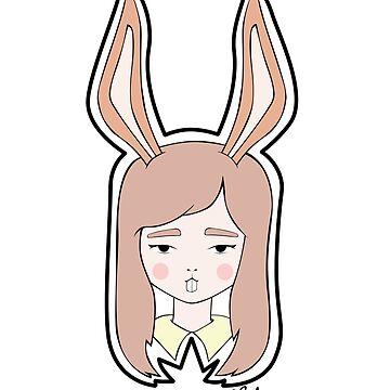 Rabbit Girl by charmanderjoy