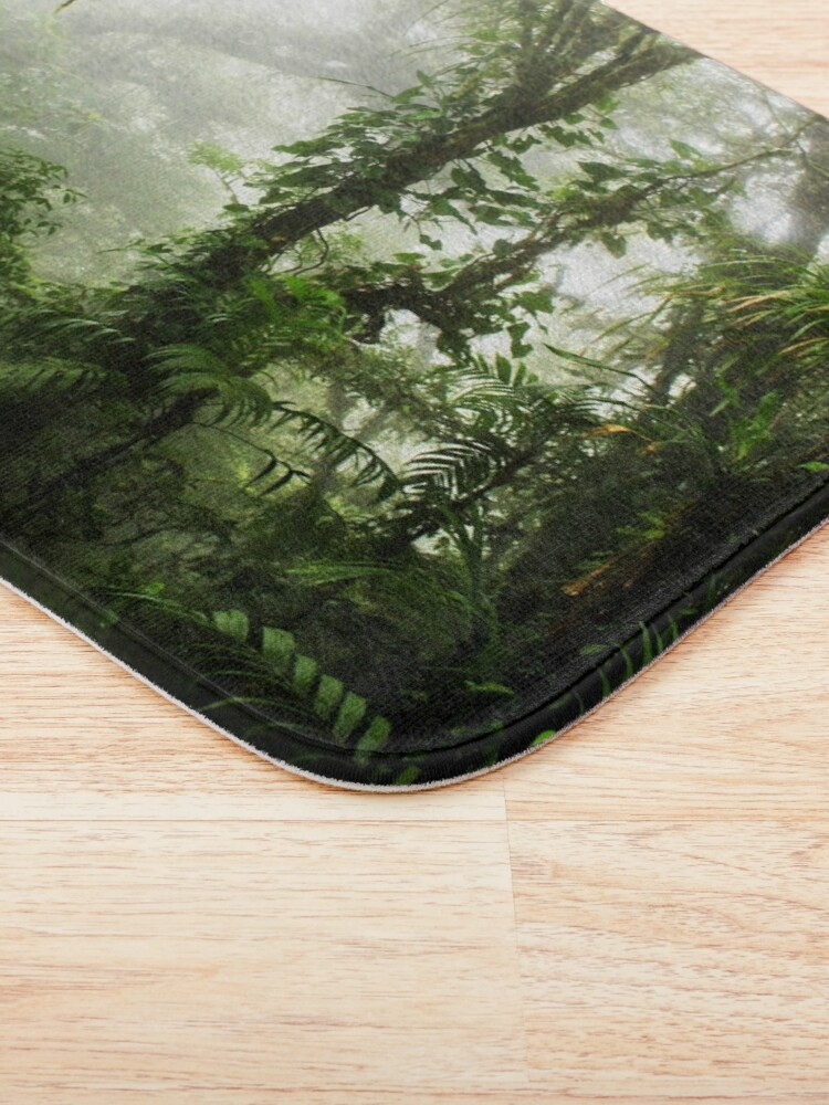 Alternate view of Cloud Forest Bath Mat