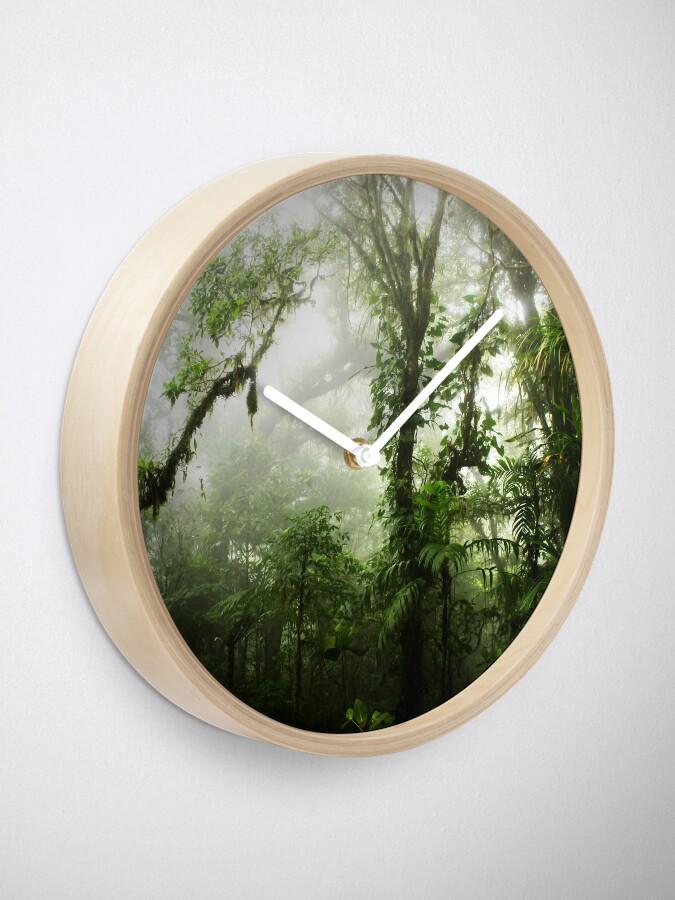 Alternative Ansicht von Wolkenwald Uhr