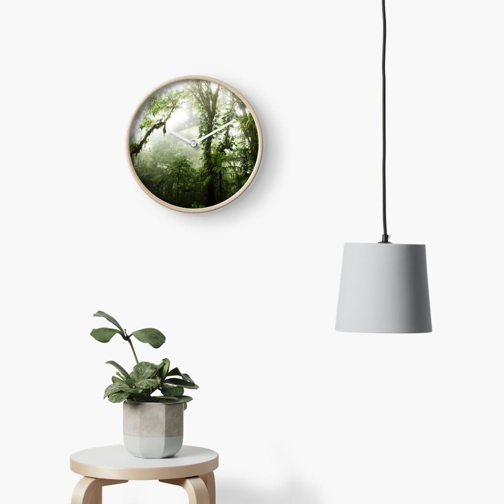 Wolkenwald Uhr