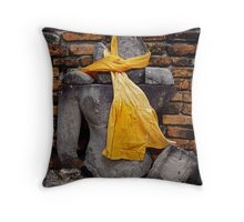 Buddha Remains Throw Pillow