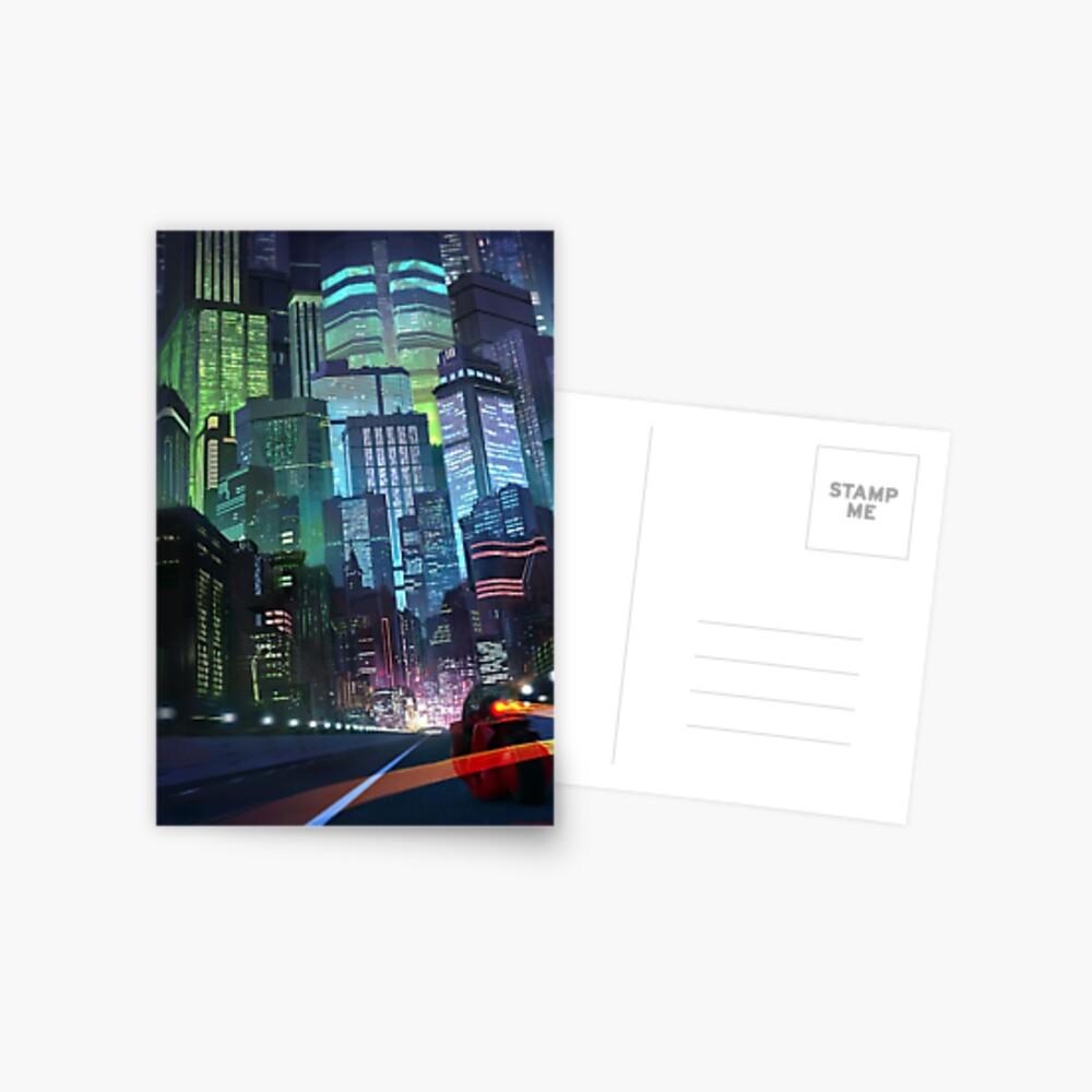 Akira - Neo-Tokio Postkarte