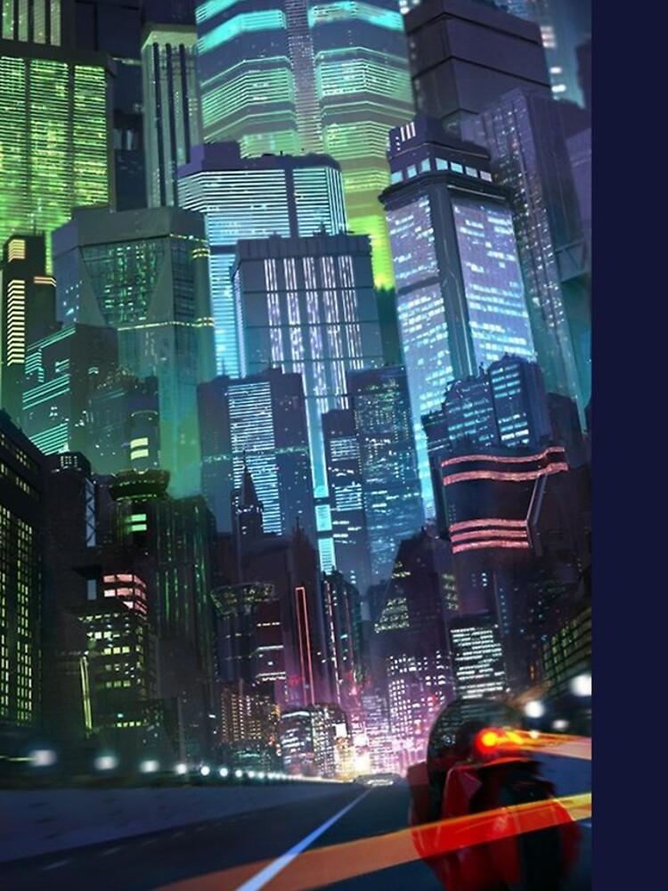 Akira - Neo-Tokio von cobain09