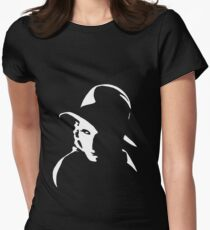 Garbo Womens Fitted T-Shirt