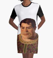 Schöner menschlicher Shrek T-Shirt Kleid