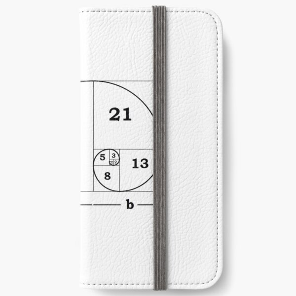 #Golden #Ratio #GoldenRatio #Design Ideas Fibonacci Spiral = 1.6180339887498948420 iPhone Wallet