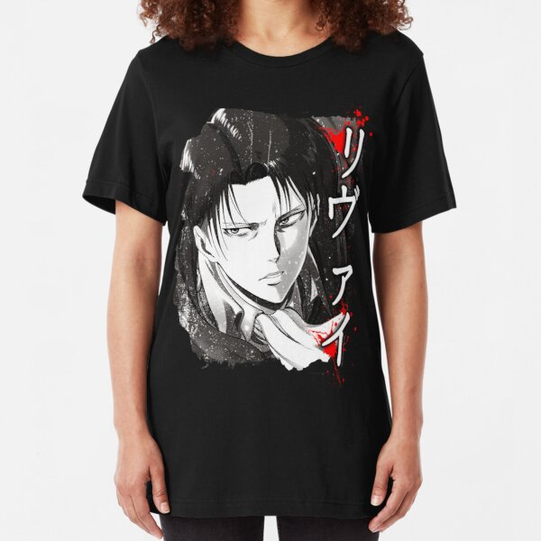 Captain Levi Slim Fit T-Shirt