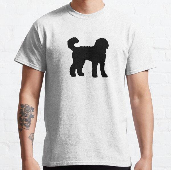 Black Goldendoodle Dog Classic T-Shirt