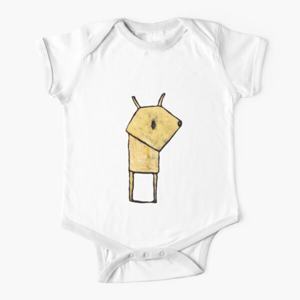 Small creature Short Sleeve Baby One-Piece