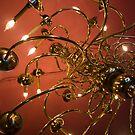 Dizzy Chandelier  by Kathey  Sweeney