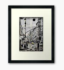 one day in N.Y. Framed Print