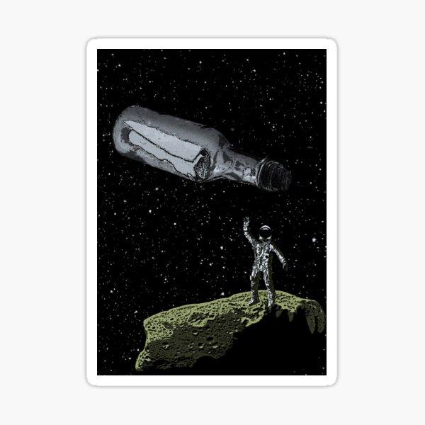 Space Castaway Sticker