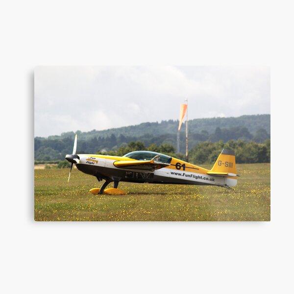 Extra 300 aerobatic plane Metal Print