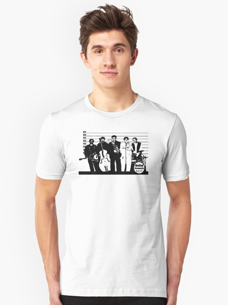 The Usual Suspects Band Unisex T-Shirt Front