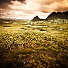 Moody Cradle Mountain by Arek Rainczuk