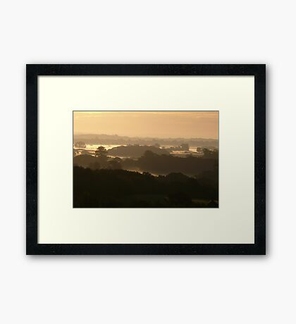Dawn Layers 2 Framed Print