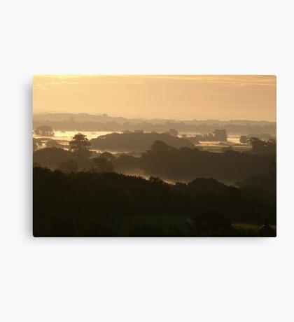 Dawn Layers 2 Canvas Print