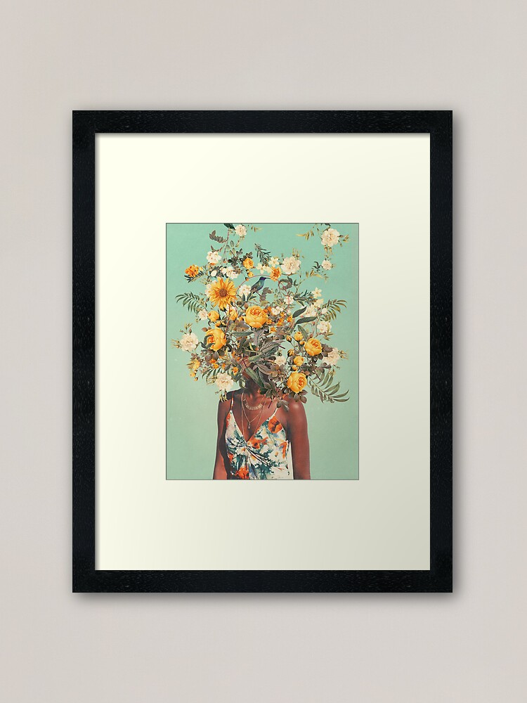 Alternate view of You Loved me a Thousand Summers ago Framed Art Print