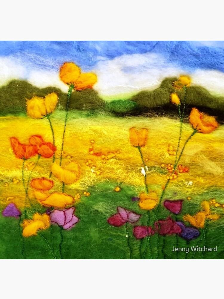 Buttercup Meadow by SeaDriftStudio