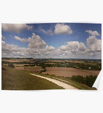 The Downs, The Weald Poster