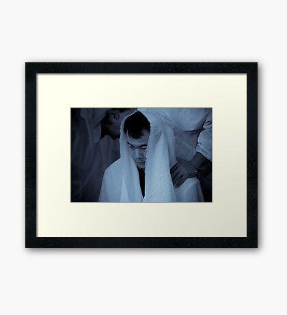 The Chinese Massage Framed Print