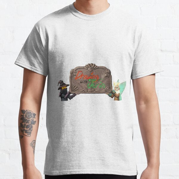 Drawing With Jerin Title Card Classic T-Shirt