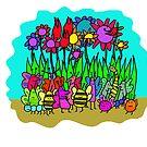 cute bugs by davepockett
