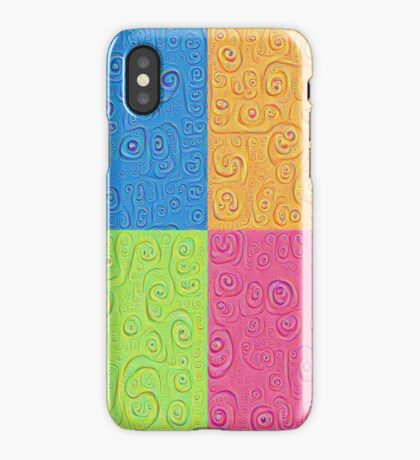 Deep Dreaming of a Color World 4K Saturation iPhone Case