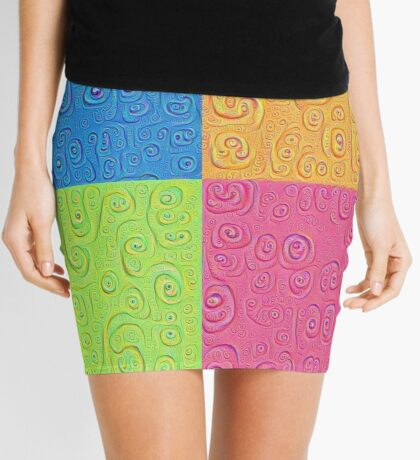 Deep Dreaming of a Color World 4K Saturation Mini Skirt
