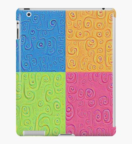 Deep Dreaming of a Color World 4K Saturation iPad Case/Skin