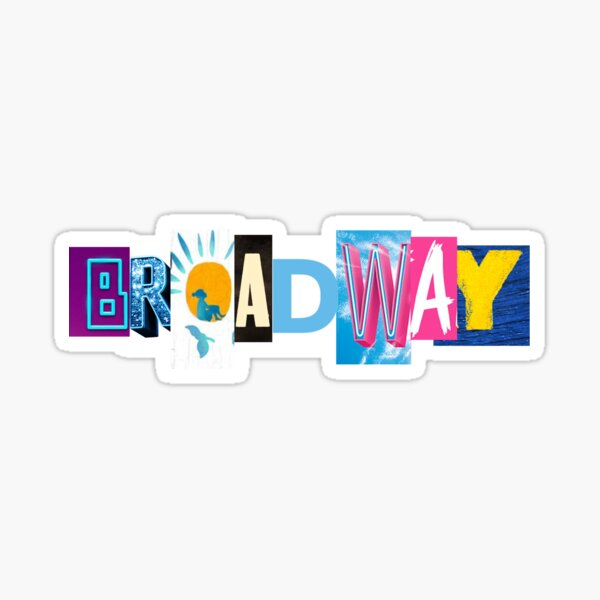 BROADWAY Sticker