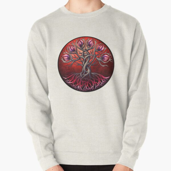 Heart Tree Pullover Sweatshirt