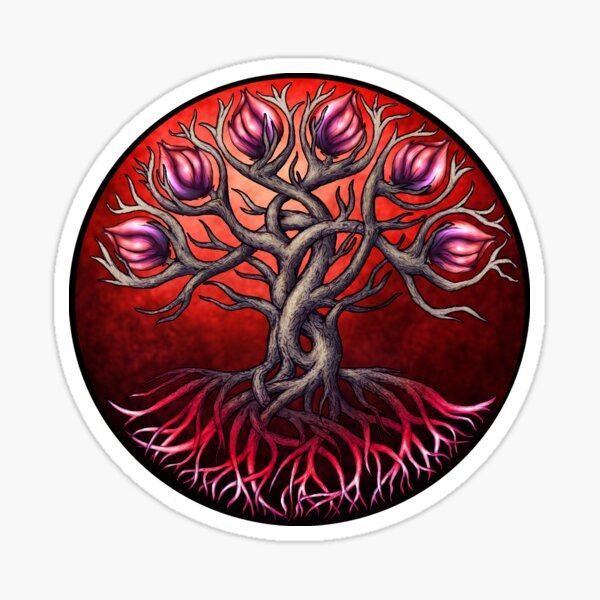 Heart Tree Sticker
