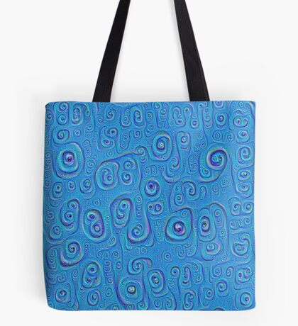 Deep Dreaming of a Blue World 4K Tote Bag