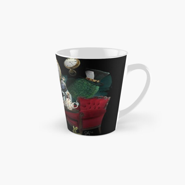 Alice In Wonderland Collage Tall Mug
