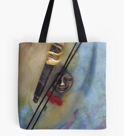 Ariadne's White Thread Tote Bag