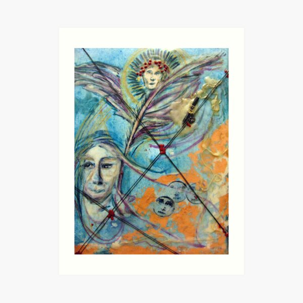 Icarus Was Too Big  for His Britches Art Print