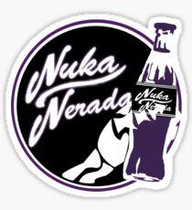 Nuka Nerada - Fallout Doctor Who Sticker