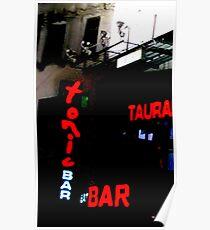The Tonic Bar Poster