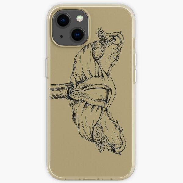 Uterus - Black Version iPhone Soft Case